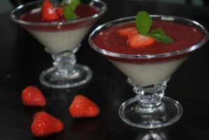 Десерт панакота в домашних условиях