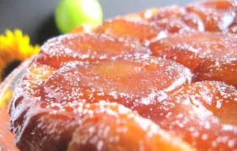 пирог перевертыш, французский яблочный тарт