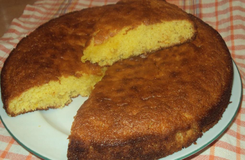 рецепт апельсинового пирога