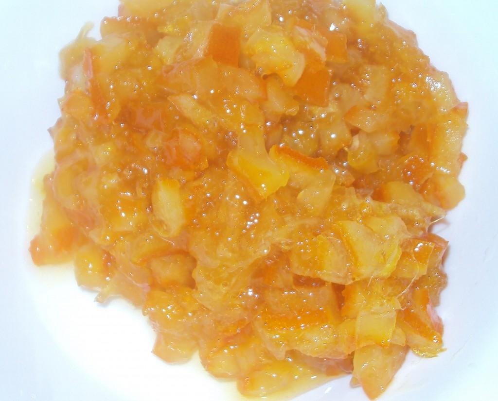 пирог с апельсиновой цедрой