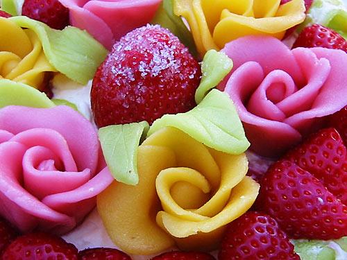 марципановые розы