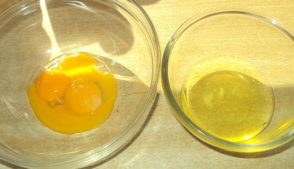 белки и желтки