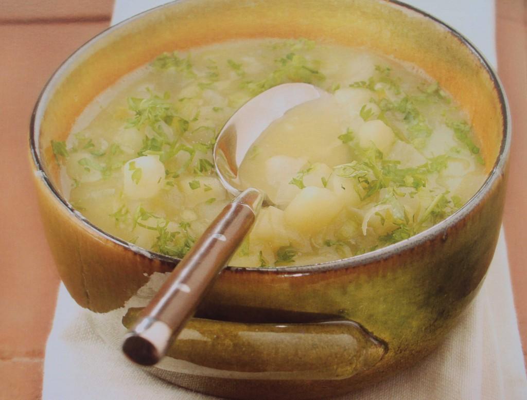 картофельный суп, вкусный суп