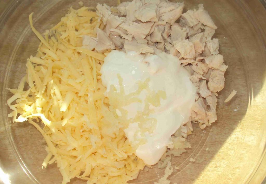 начинка для фаршированной картошки