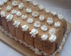 Замороженный простой торт
