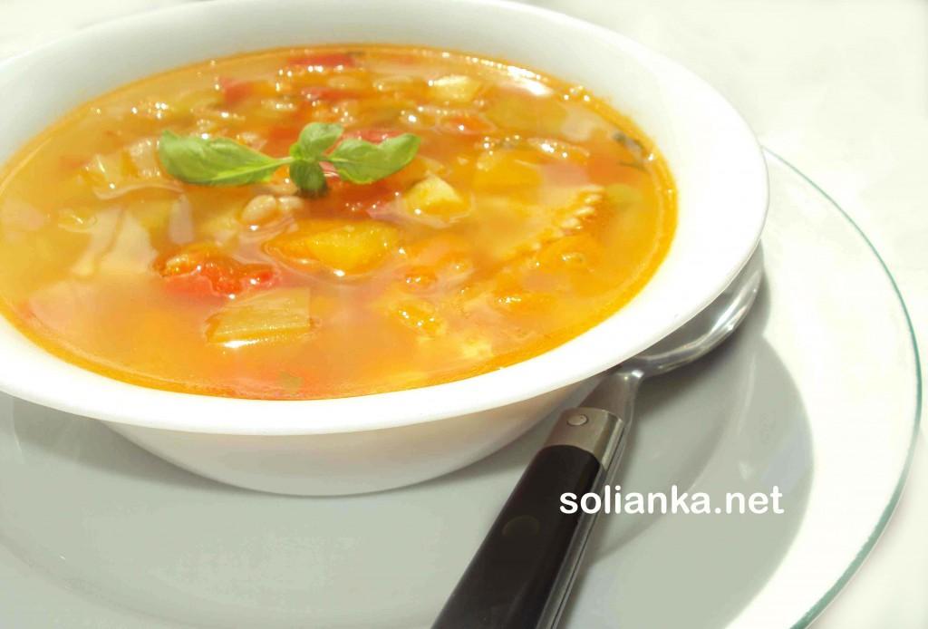 суп минестроне рецепт