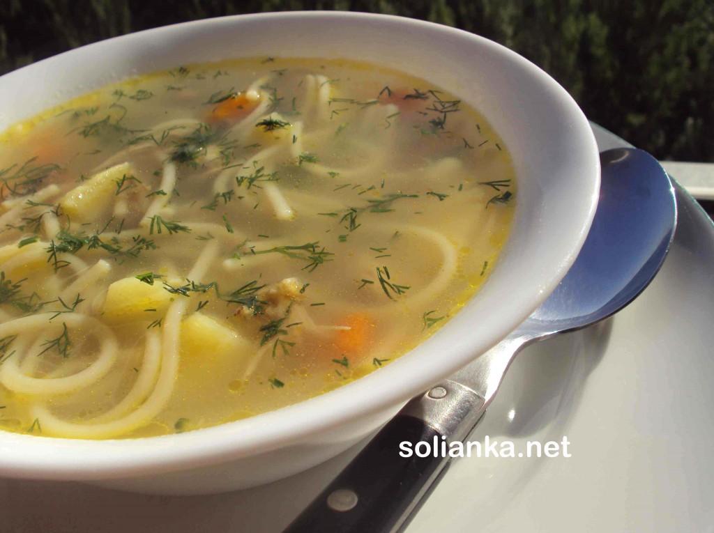 суп из вермишели рецепт