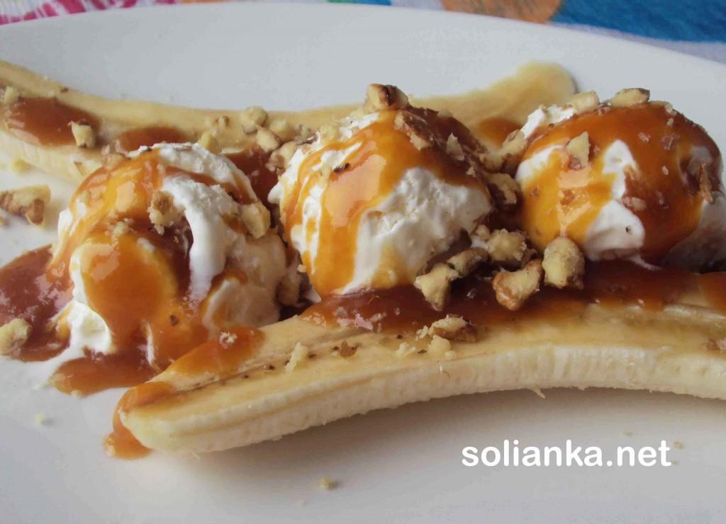 десерт из бананов рецепт