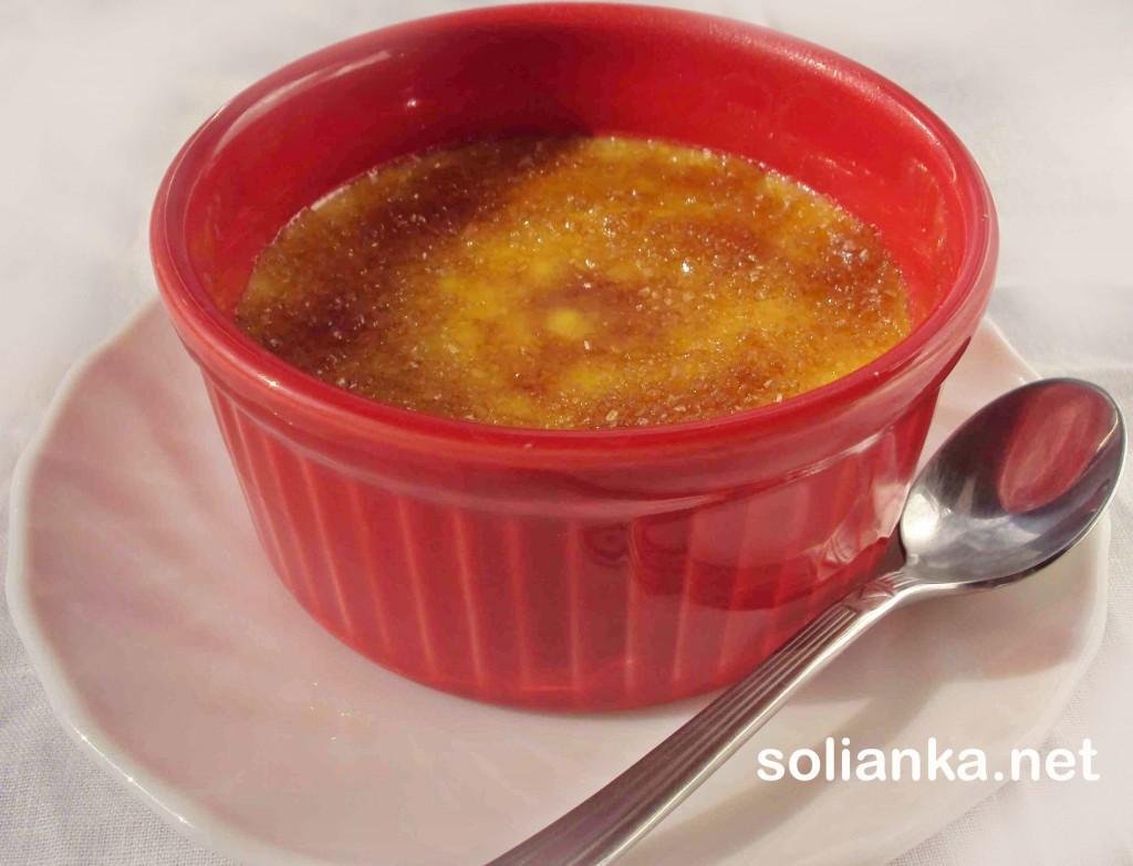 десерт крем брюле - рецепт с фото