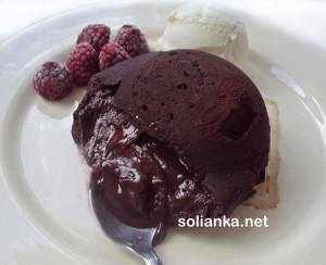 Шоколадный фондан – искушение шоколадом
