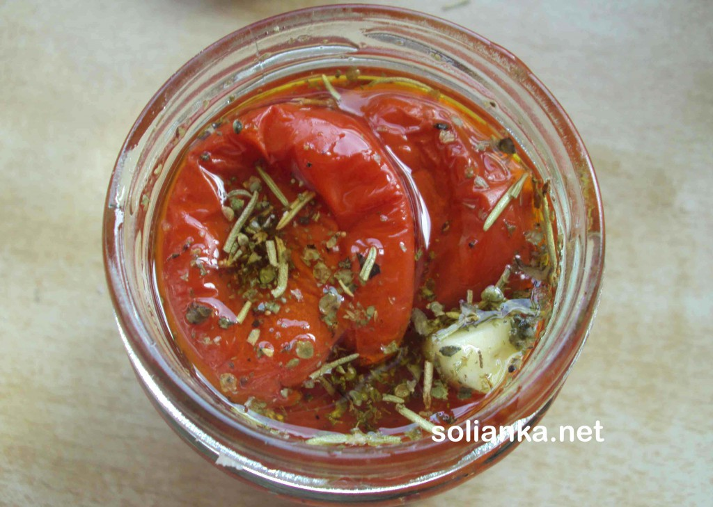 вяленые томаты - рецепт в масле