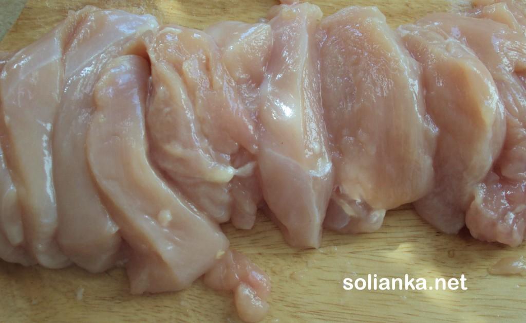 нарезать филе