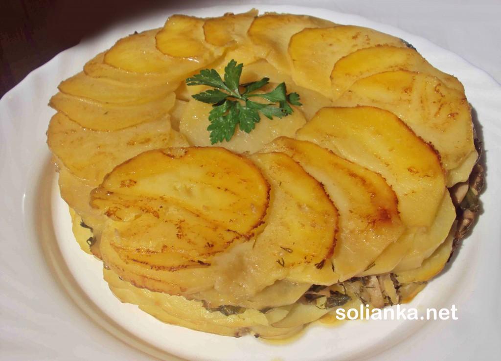 картофельный пирог рецепт