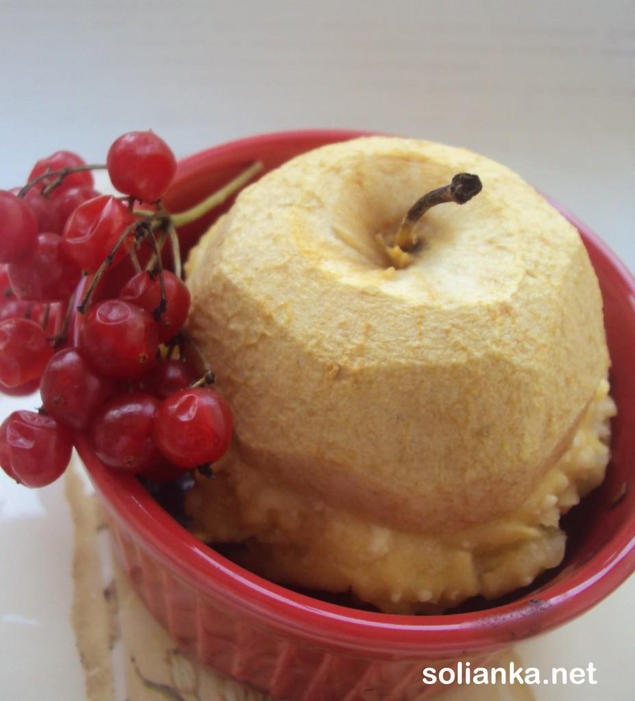 запечь яблоки рецепт