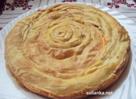 пирог из тыквы рецепт