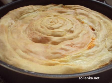 простой пирог с тыквой