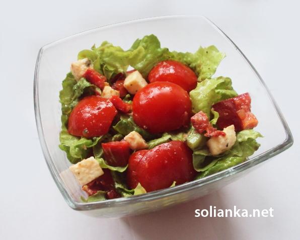 рецепт простого салата