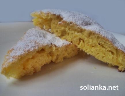 как испечь быстрый лимонный пирог