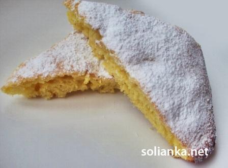 пирог лимонный рецепт с фото