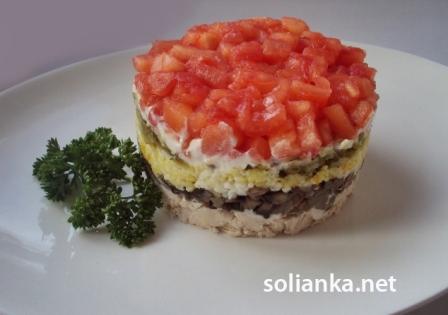 салат красная шапочка пошаговый рецепт