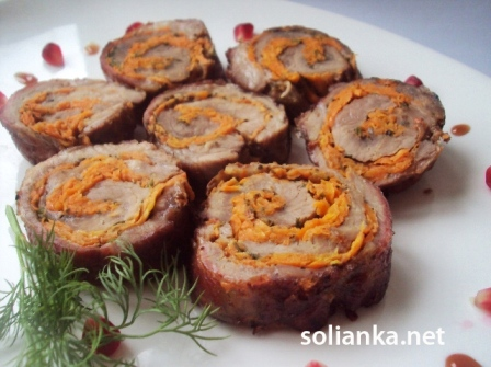 рулет из свинины рецепт