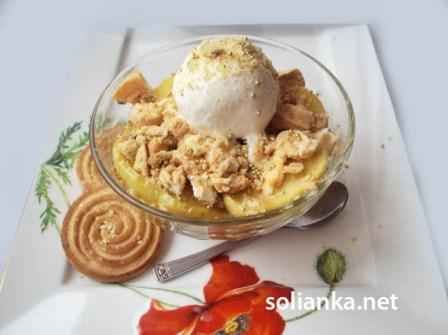 десерт из яблок рецепт