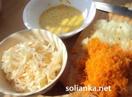 ингредиенты на капустняк