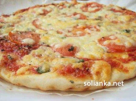 вид пиццы