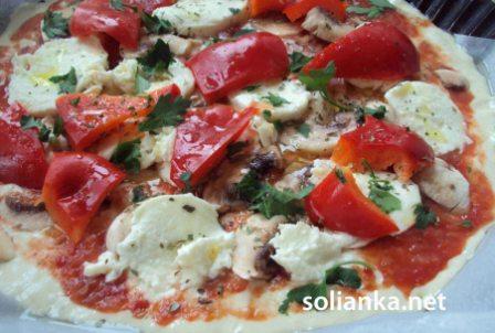 секрет жидкого теста на пицце