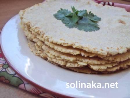 лепешка тортилья классическая из кукурузной муки рецепт с фото