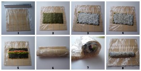 инструкция приготовления роллов