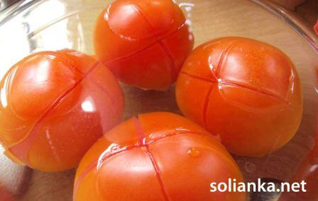 помидоры на чахохбили