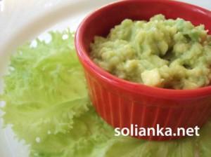 Рецепт мексиканского соуса гуакамоле