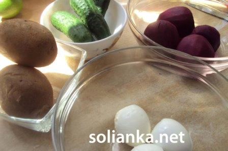 ингредиенты на свекольник
