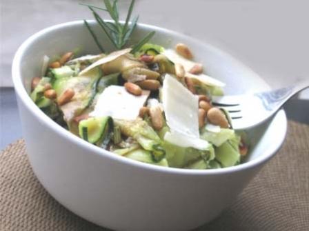 рецепт салата из свежих кабачков