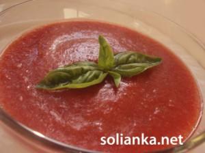 Самый помидорный суп гаспачо – рецепт с фото