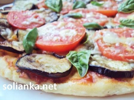 рецепт постной пиццы