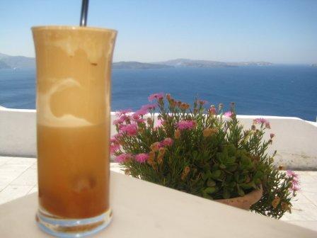 как сделать греческий кофе фраппе