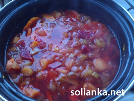 как варить свекольный суп