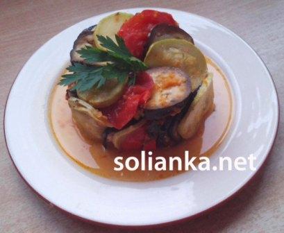 фото-рецепт как приготовить рататуй в духовке