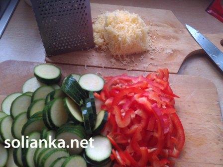 как тушить кабачки с рисом