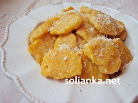 рецепт ньокки из тыквы