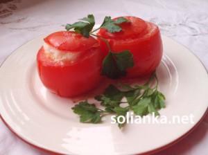 Суфле в помидорах – рецепт с фото