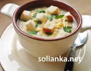 Суп-пюре из цветной капусты – наш самый любимый суп