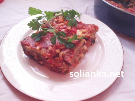 рецепт приготовления баклажанов по-итальянски