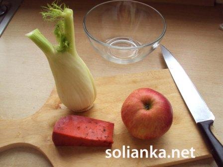 ингры для салата из фенхеля
