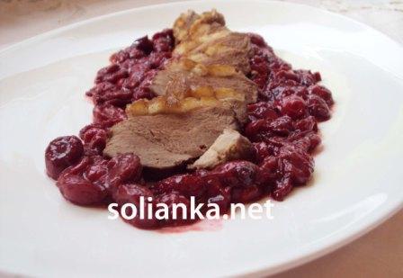 рецепт блюда из утиной грудки