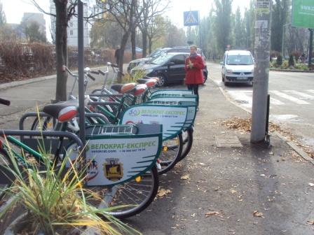 прокат велосипедов на русановке