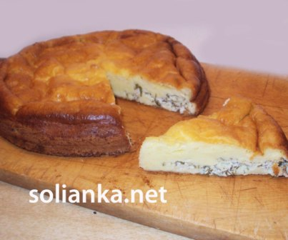 рецепт быстрого пирога на майонезе