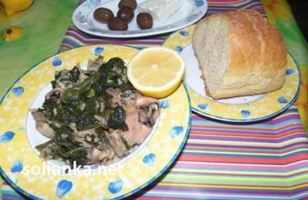 как готовить каракатицу